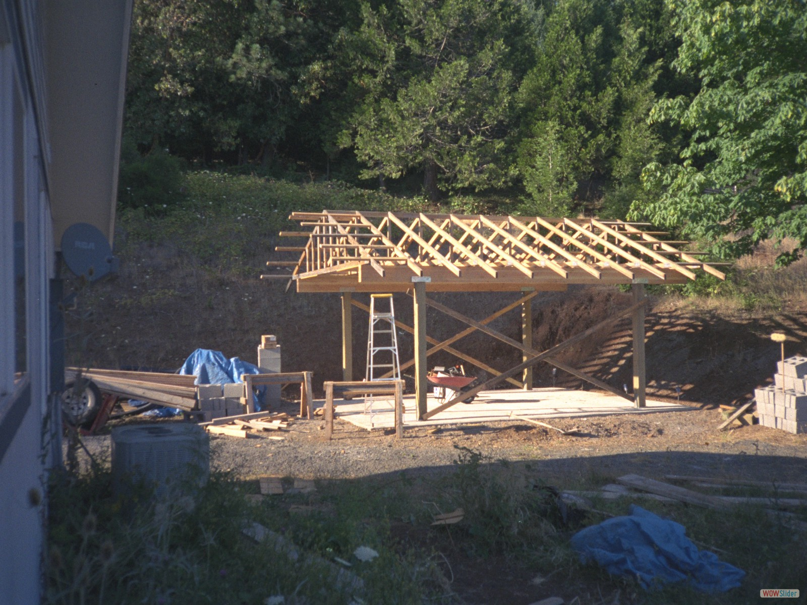 CARPORT FRAMING
