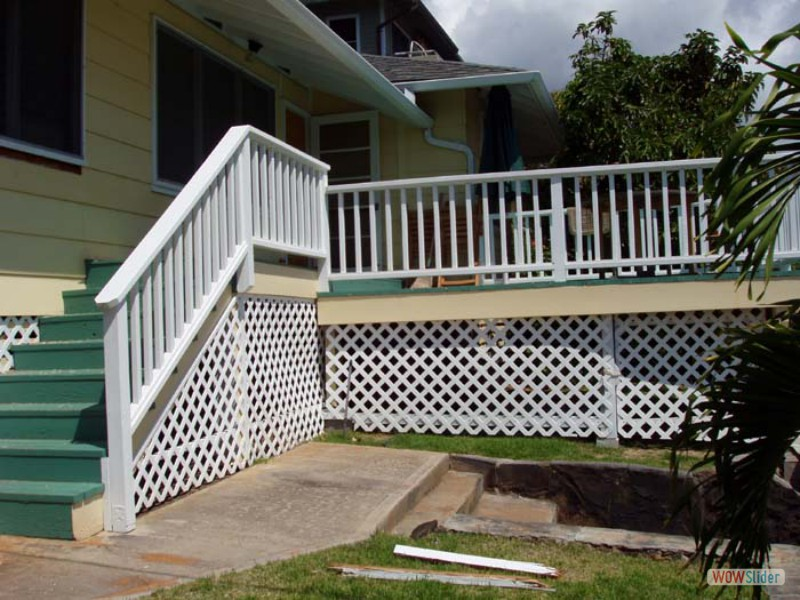 LANAI - AFTER - Stairs